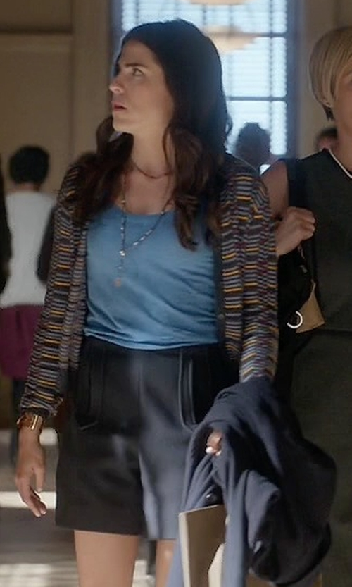 Karla Souza with Marc By Marc Jacobs High Waisted Shorts in How To Get Away With Murder