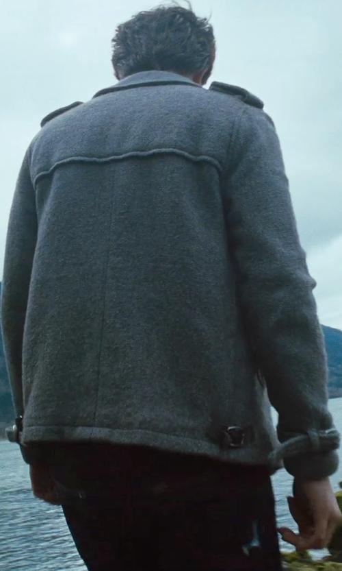 Robert Pattinson with Levi's Capital E Hesher Straight Leg Jeans in Twilight