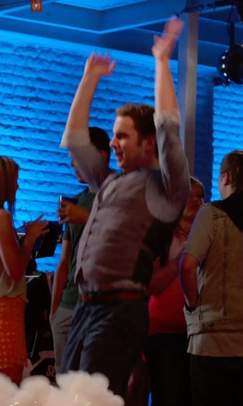 Ben Platt with Lardini Waistcoat Vest in Pitch Perfect 2