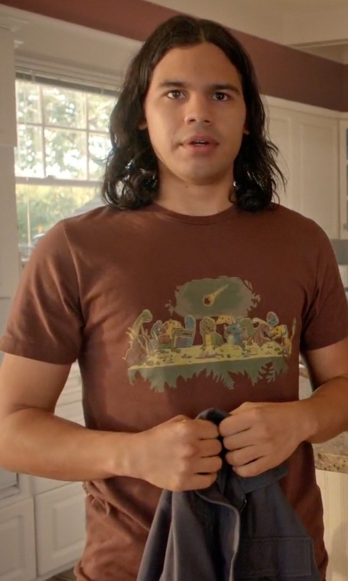 Carlos Valdes with Threadless The Last Supper Shirt in Arrow
