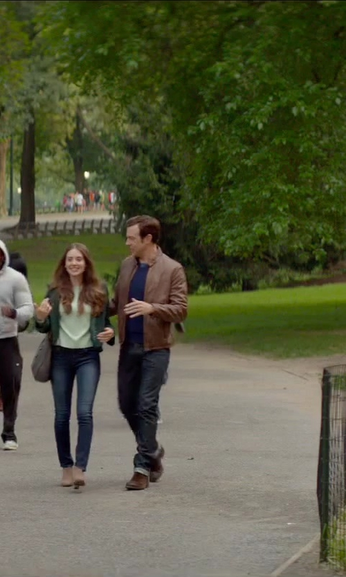 Jason Sudeikis with Timberland Earthkeepers 'Brookpark' Leather Chukka Boots in Sleeping with Other People