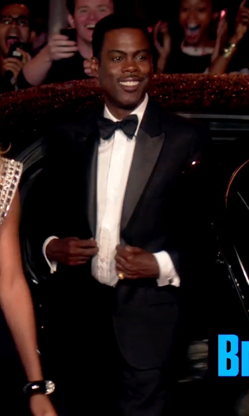 Chris Rock with Db Lab Design 46 Collection Resin Bow Tie in Top Five