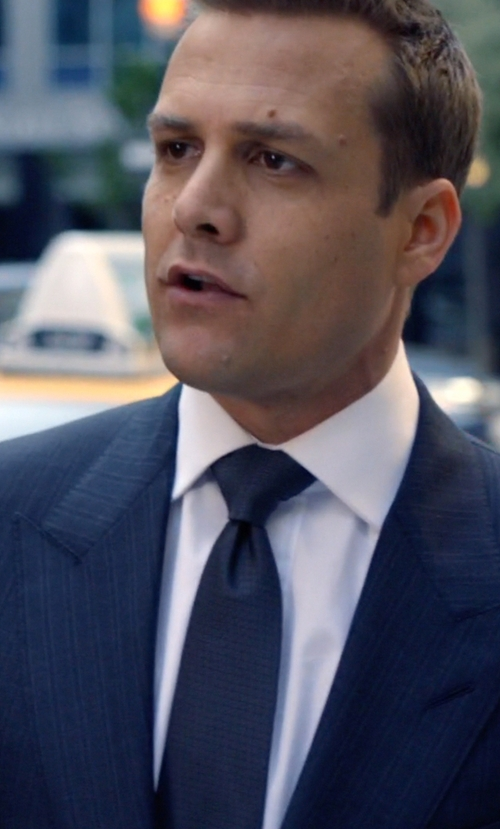 Gabriel Macht with Salvatore Piccolo Woven Tie in Suits