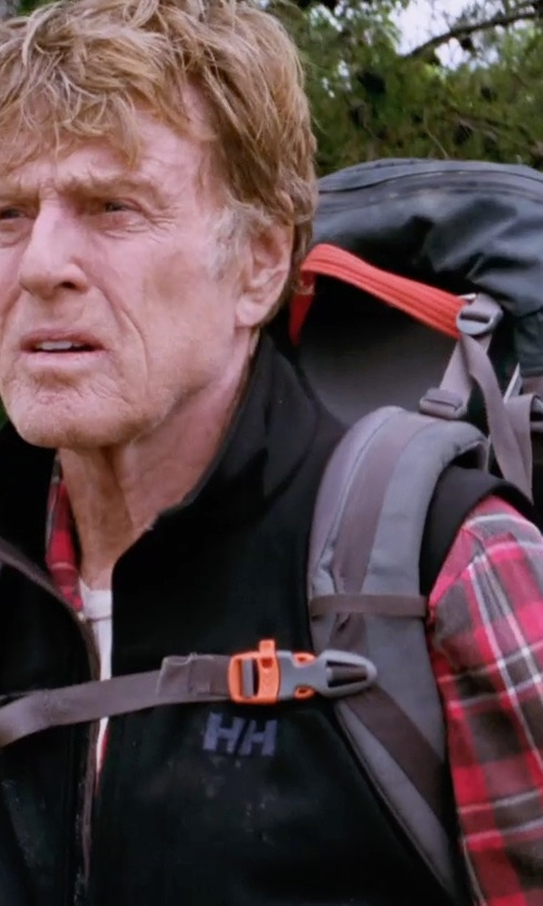 Robert Redford with Ralph Lauren Plaid Cotton Twill Workshirt in A Walk in the Woods