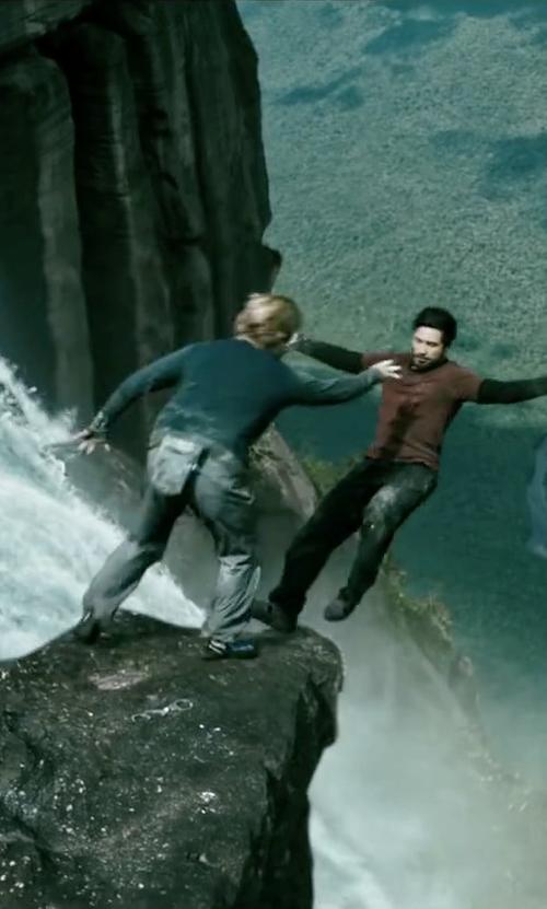 Luke Bracey with Evolv Defy Climbing Shoe in Point Break