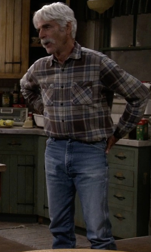 Sam Elliott with Diesel Safado Denim Jeans in The Ranch
