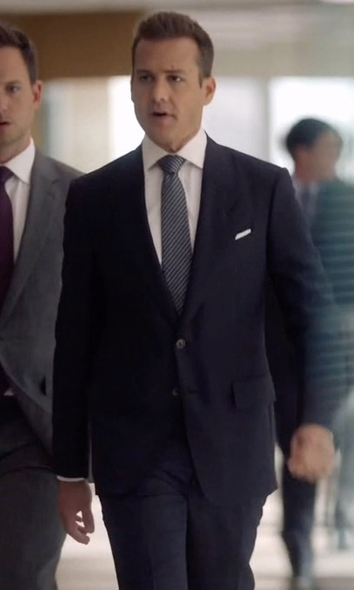 Gabriel Macht with Tom Ford O'Connor Base Windowpane Two-Piece Suit in Suits