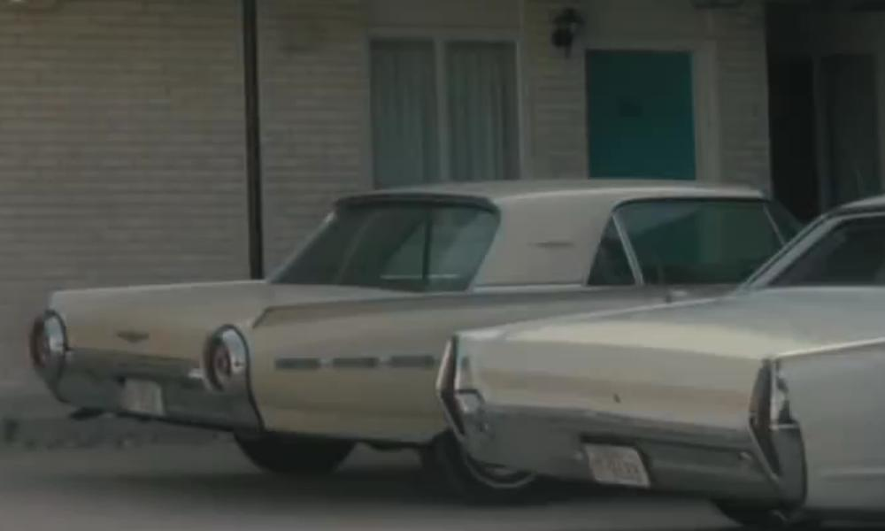 Unknown Actor with Ford 1962 Thunderbird in Lee Daniels' The Butler