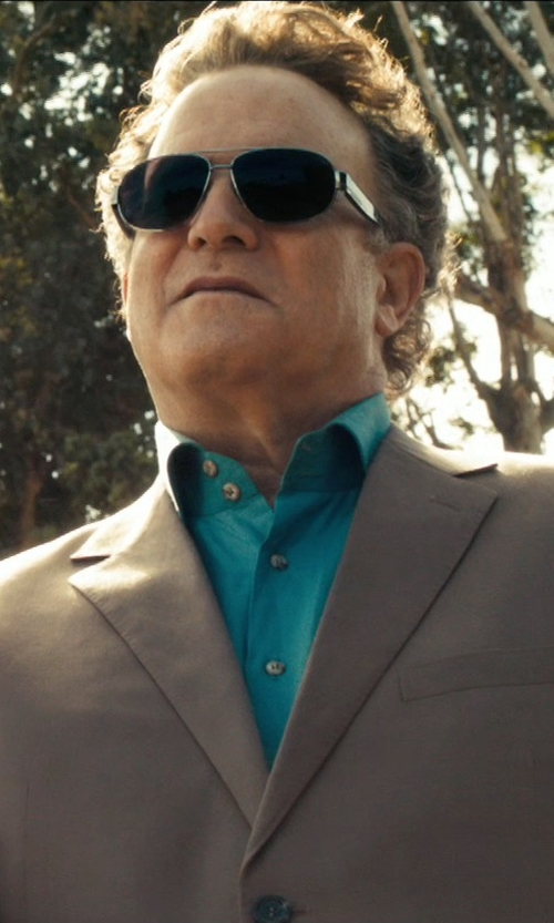 Albert Brooks with Cole Haan Aviator Sunglasses in Drive