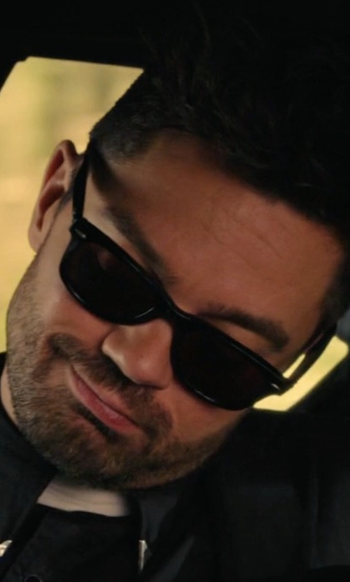 Dominic Cooper with Ray-Ban Wayfarer Sunglasses in Preacher
