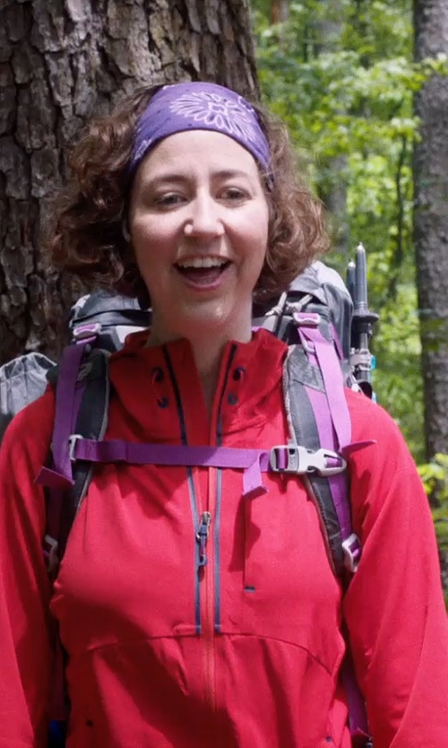 Kristen Schaal with Haglofs Vandra II Q Gore-Tex Jacket in A Walk in the Woods