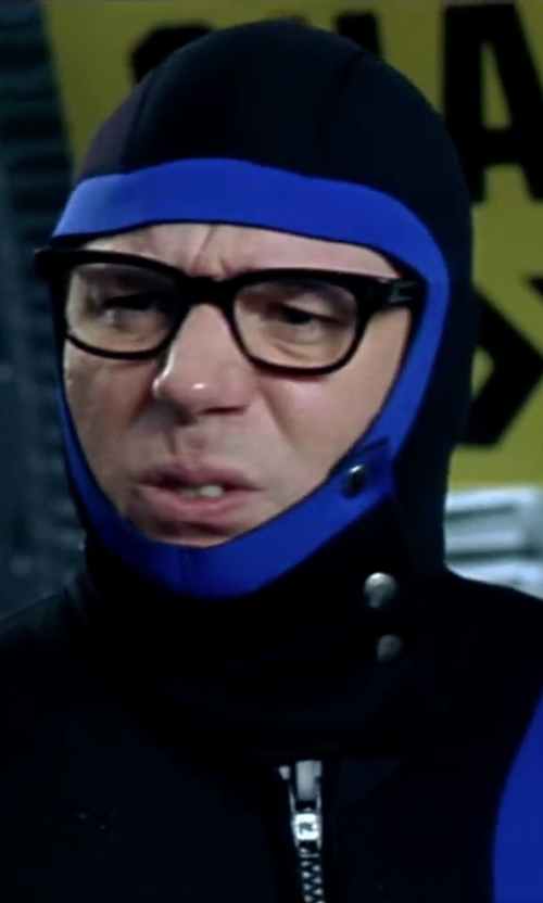 Mike Myers with Deena Appel (Costume Designer) Custom Made Black Neoprene With Blue Stripe Wetsuit in Austin Powers in Goldmember