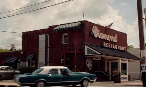 Nat Wolff with Diamond Restaurant Charlotte, North Carolina in Ashby