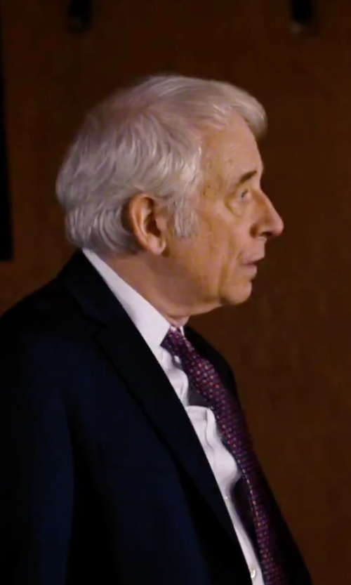 Austin Pendleton with David Donahue Trim Fit Solid Dress Shirt in She's Funny That Way
