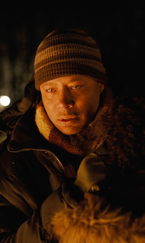 Terrence Howard  with Prana Clive Beanie in Prisoners