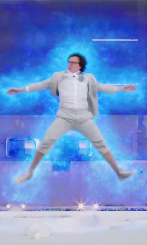 Clark Duke with GBX Men's Devro Slip-On Loafer in Hot Tub Time Machine 2