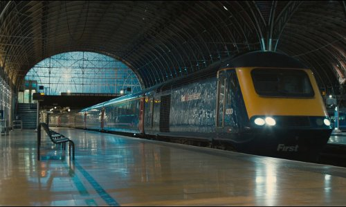 Ben Whishaw with Paddington Station London, United Kingdom in Paddington