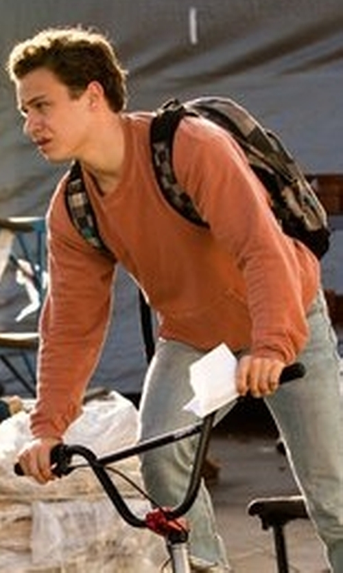 Finn Cole with Herschel Supply Co. Iona Backpack in Animal Kingdom