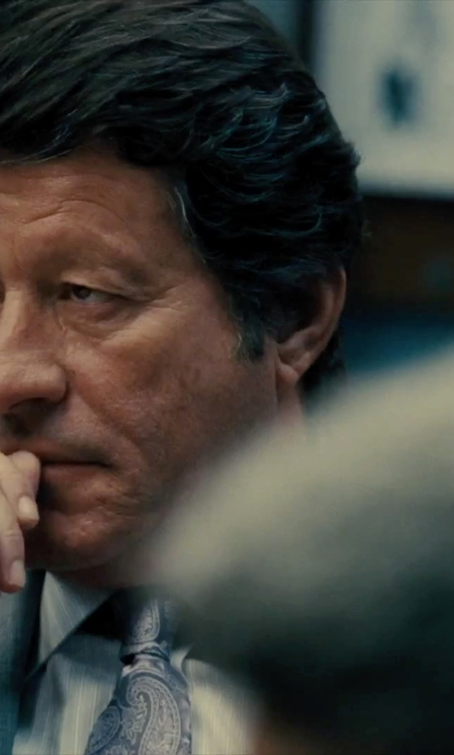 Joaquim de Almeida with Movado Three- Eye Chronograph Watch in Our Brand Is Crisis