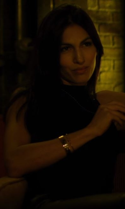 Elodie Yung with Michael Kors MK Logo Bangle in Daredevil