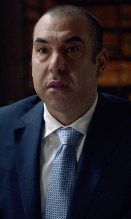 Rick Hoffman with J.Z. Richards Woven Silk Tie in Suits