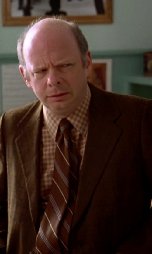 Wallace Shawn with Pendleton Men's Broadway Shirt in Clueless