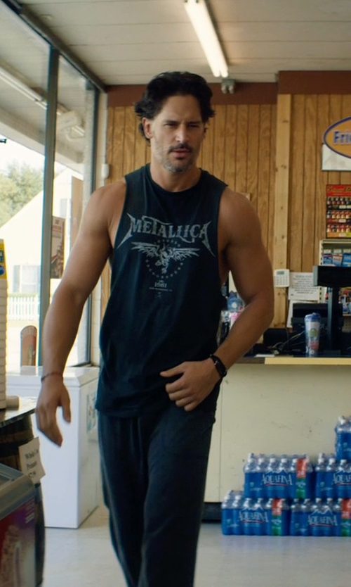 Joe Manganiello with Vivienne Westwood Ezra Cord Medium Bracelet in Magic Mike XXL