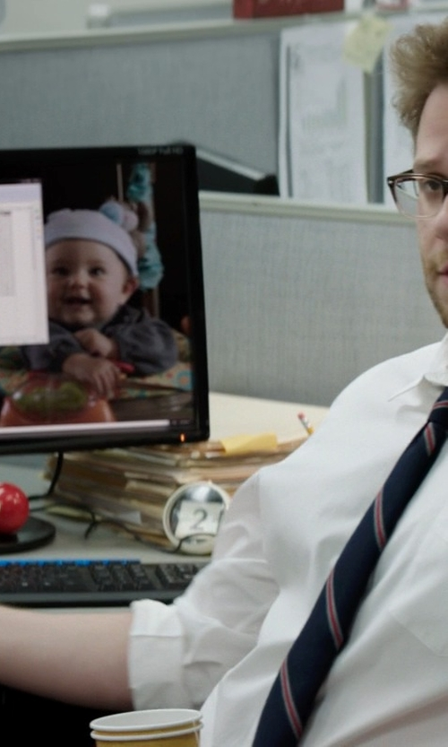 Seth Rogen with Samsung LED-Lit Monitor in Neighbors