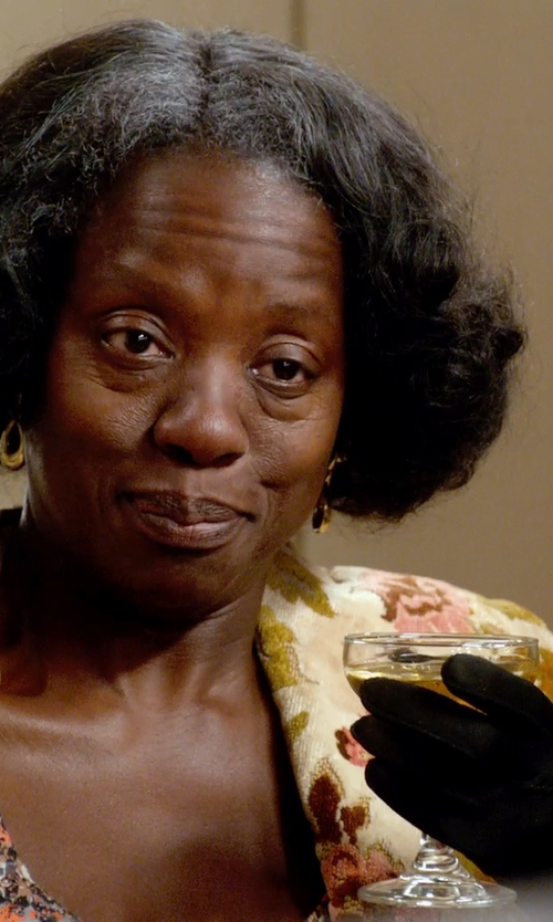 Viola Davis with Jacobson Hat Company Women's Adult 9 Inch Satin Gloves in Get On Up