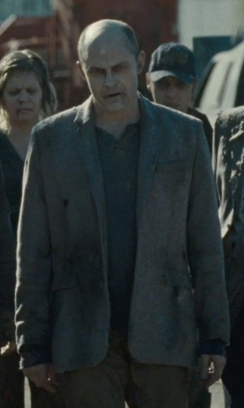 Rob Corddry with David Donahue Connor Classic Fit Tweed Sport Coat in Warm Bodies