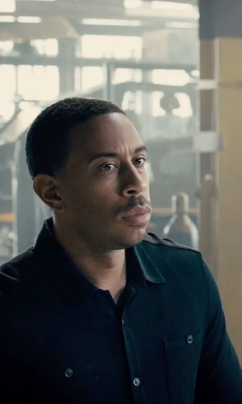 Ludacris with Delikatessen Cropped Two Pocket Shirt in Furious 7