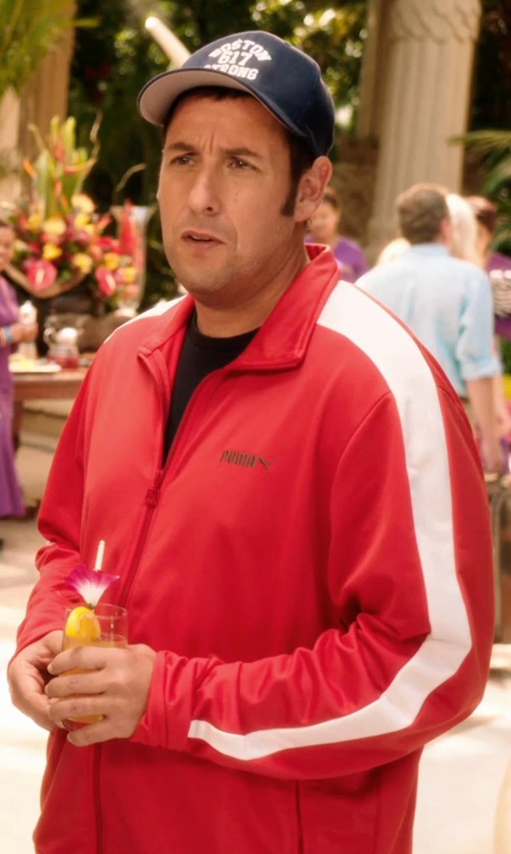 Adam Sandler with PUMA Men's Heroes T7 Track Jacket in Blended