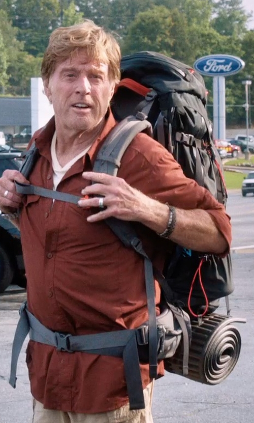 Robert Redford with ALPS Mountaineering Foam Camping Mat in A Walk in the Woods