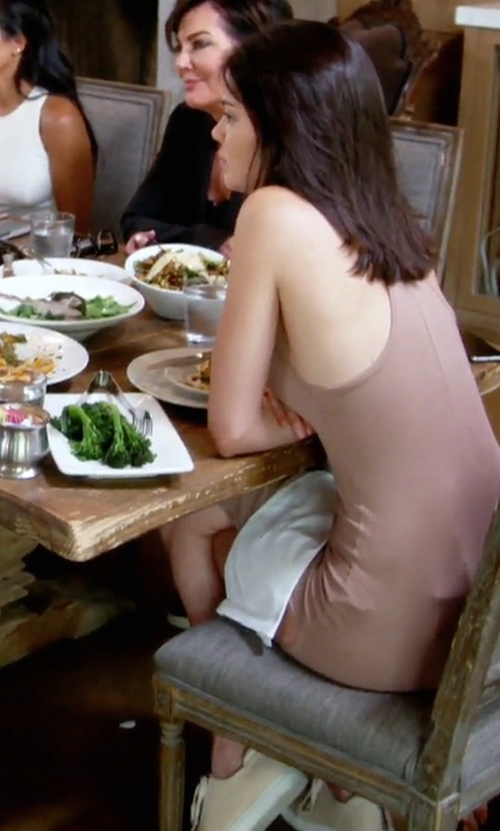 Kendall Jenner with Kenneth Cole Kam Neoprene and Leather Sneakers in Keeping Up With The Kardashians