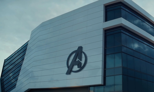 Unknown Actor with Porsche Experience Center (Depicted as Avengers Headquarters) Atlanta, Georgia in Captain America: Civil War