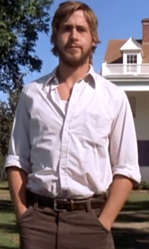 Ryan Gosling with W.R.K  'Reworked' Trim Fit Sport Shirt in The Notebook