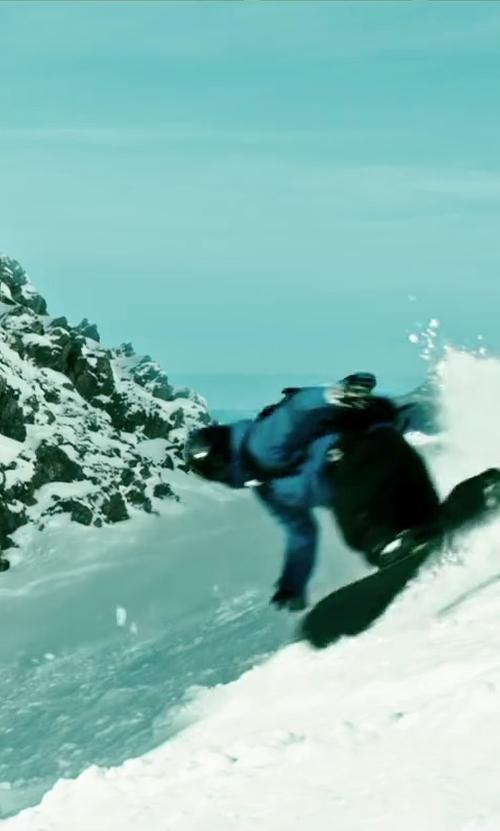 Luke Bracey with Flow Blackout Snowboard in Point Break