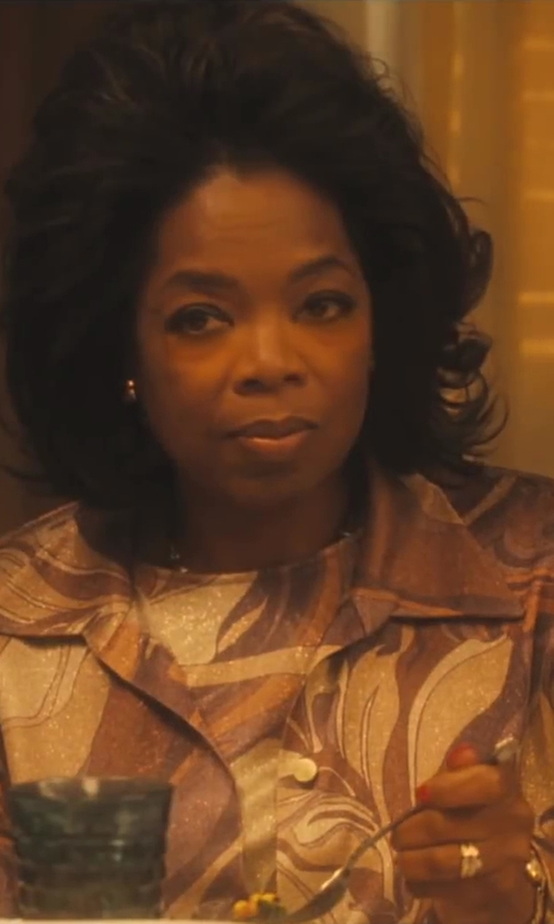 Oprah Winfrey with Kay Jewellers Women's Wedding Band in Lee Daniels' The Butler