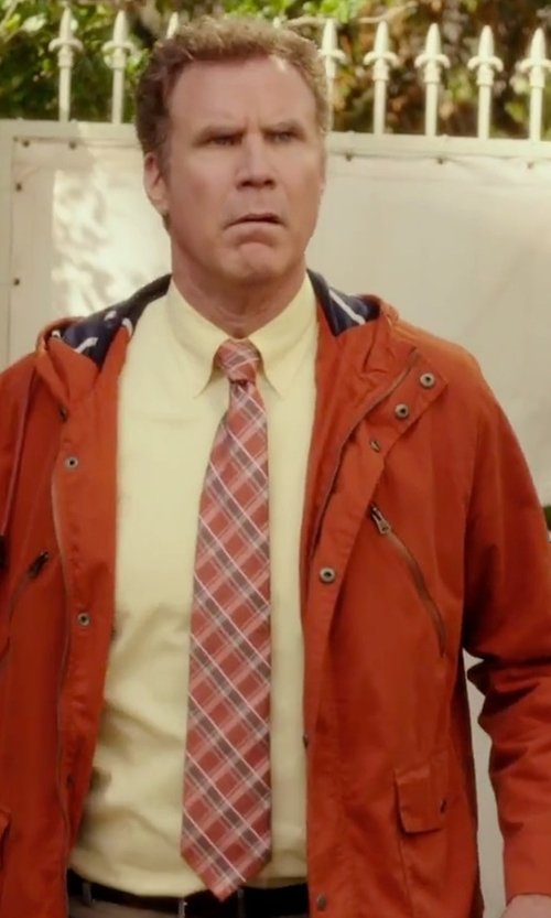Will Ferrell with Haggar Plaid Tie in Daddy's Home