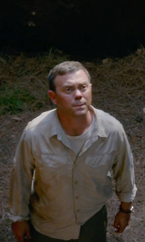 Joe Lo Truglio with Orlebar Brown Long Sleeve Shirt in Brooklyn Nine-Nine