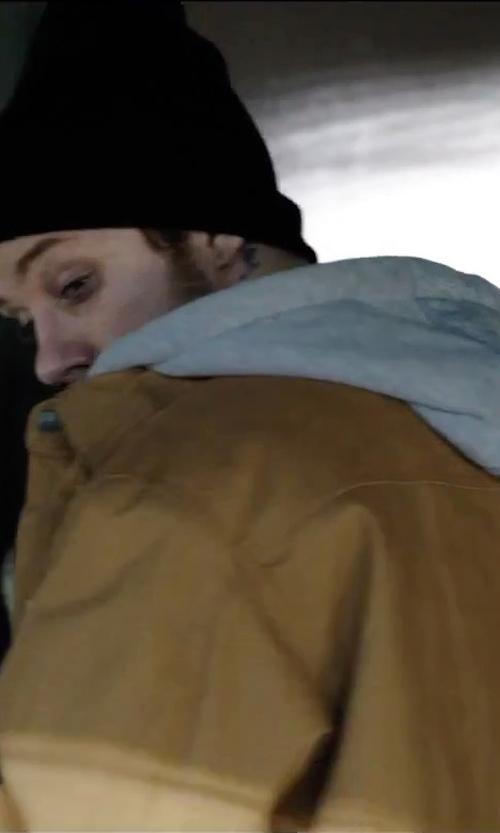 Joe Cole with Banana Republic Micro-Stripe Double-Knit Hoodie in Secret in Their Eyes