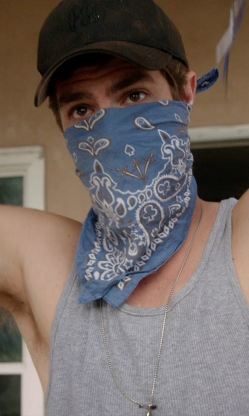 Andrew Garfield with Vitaly Protegir Necklace in 99 Homes