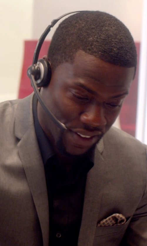 Kevin Hart with Burberry Brit Cotton Sport Shirt in Top Five