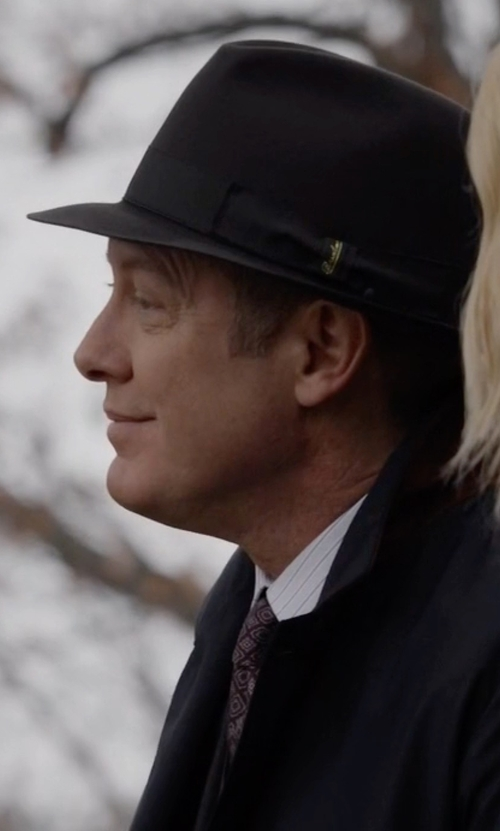 James Spader with Michael Michael Kors Four Square Tie in The Blacklist