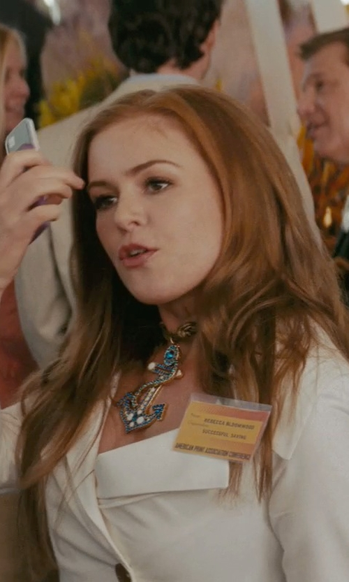 Isla Fisher with Vivienne Westwood Anglomania 'Tempest' Blazer in Confessions of a Shopaholic