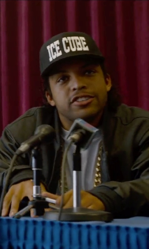 O'Shea Jackson Jr. with ATM Basic T-Shirt in Straight Outta Compton