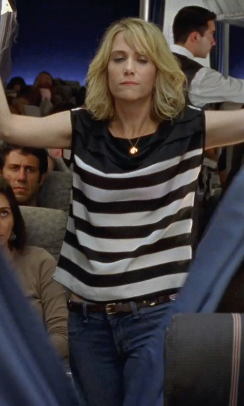 Kristen Wiig with Sparkle & Fade Silk Tee Shirt in Bridesmaids