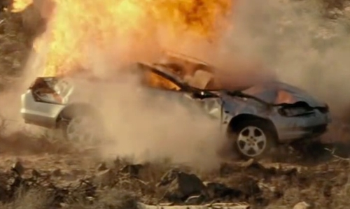 Unknown Actor with Honda Accord Coupe Car in Taken 3