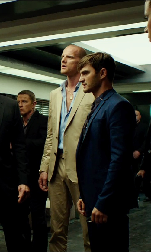 Unknown Actor with Ralph Lauren Black Label End-On-End Dress Shirt in The Transporter: Refueled