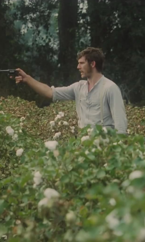 Alex Pettyfer with Armani Collezioni Regular-Fit Hairline Striped Dress Shirt in Lee Daniels' The Butler